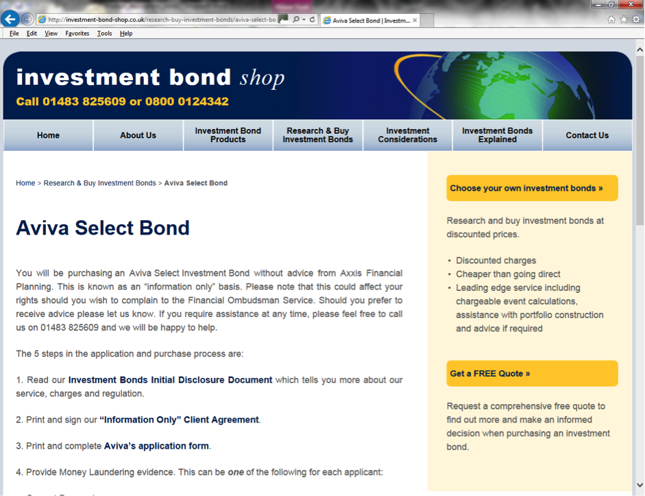 "Investment Bonds - ""Help Me Buy"""